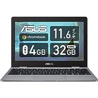 ASUS Chromebook C223NA Laptop (Celeron N3350 / 4GB / 32GB / 11.6 / 999 Grams…