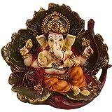 Ganesha Gift Statue Idol Showpiece Sculpture Murti LxHxW(cm) = 12.5x13x7