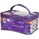 Diane Twist-Flex Rods, Bigudis Twist-Flex, Pack of 30