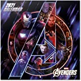 Erik - Marvel Avengers Wall Calendar 2021 11.8 x 11.8 inches (12 Months - Free Poster Included)