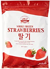 Berry Field Frozen Korean Strawberry, 1kg - Frozen