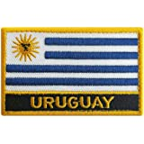 GAMESPFF Each Country Tactical Patches (Uruguay, Sew Iron on)