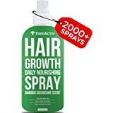 TreeActiv Hair Growth Daily Nourishing Spray Natural Leave in Conditioner Anti Frizz Reduce Curly Frizzy Hair Argan Oil Bioti