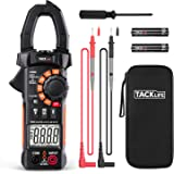 Clamp Meter Amp meter Digital Multimeter 4000 Counts with NCV Auto-Ranging Testing AC/DC Current&Voltage, Continuity Electric