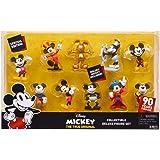 スペシャルエディション 90年のマジック - ディズニー ミッキーザトゥルーオリジナルコレクションデラックスフィギュアセット 10パック - ゴールデンミッキー付属