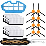Replacement Filters and Brushes for Ecovacs Deebot N79 N79s DN622 500 N79w N79se Yeedi K600, K700 Robotic Vacuum Cleaner.(8 S