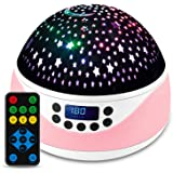 Shayson Star Night Light Projector, Remote Control Projector Night Light for Kids Bedrooms, 8 Colors Changing Options Project