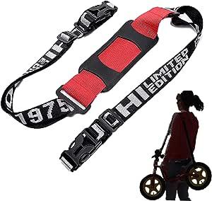 ストライダー もラクラク持ち運び 汎用 キャリー ベルト ペダルなし自転車 三輪車 スケボー Fun Market ロゴブラック
