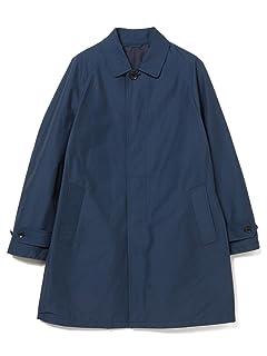 Grosgrain Balmacaan Coat 51-19-0188-819: Navy