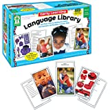 "Carson Dellosa Key Education Early Learning Language Library Learning Cards (845036) 6"" x 9.2"" x 3.5"""
