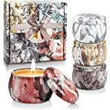 CREASHINE Gift Sets Women Scented Candles Natural Soy Wax Candles Bath and Body Works Aromatherapy Outdoor Citronella Candle,