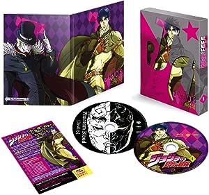 ジョジョの奇妙な冒険 Vol.1  (第1部オリジナルサウンドトラック、全巻購入特典フィギュア応募券付き)(初回限定版) [Blu-ray]