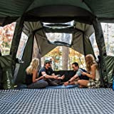 Crua Cottage Premium Quality 4-6 Person Family Tent Climate Control, All Year Round. - Two Large All-Season Double bedrooms,