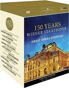 ウィーン国立歌劇場 150周年記念DVDボックス (150 Years Wiener Staatsoper / Great Opera Evenings) [11DVD] [Import] [日本語帯・解説付]