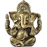 Seyee-bro Hindu God Lord Ganesha Idol Statue - Indian Elephant Buddha Ganesh Sculpture - Hindu Home Mandir Diwali Decoration