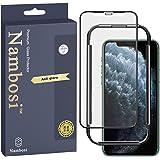 Nambosi Matte Screen Protector iPhone 11 Pro Max Anti Glare Anti Fingerprint Tempered Glass for iPhone 11 Pro Max 6.5 inch Bl