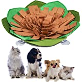 Kingtree Dogs Feeding Bowl Creative Snuffle Mat for Dog, Anti-Slip Maze Food Bowl for Slow Feeding and Sniffing Training Good