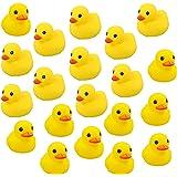 """Codall Mini Yellow Rubber Bath Ducks for Child(2.1"""", 20pcs)"""