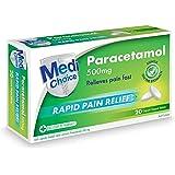MediChoice Paracetamol Rapid Caplet 20 pack, 37.1 grams
