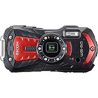 RICOH WG-60 Red Genuine Waterproof Digital Camera, 14 Meters, Waterproof, Shockproof,…