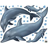 Create-A-Mural Dolphin Wall Decals