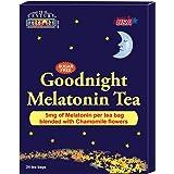 21st Century GoodNight Tea Melatonin 5mg with Chamomile, 24 count