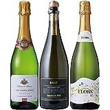 世界三大ワイン生産地 スパークリングワイン 飲み比べ 3本セット