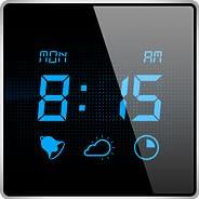マイ・アラームクロック - スリープタイマーつきで、現在の天気の状態もわかるデジタルアラームクロックで目覚めよう。