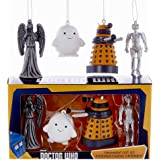 Kurt Adler Doctor Who Mini Ornament Gift Set of 4 Pieces