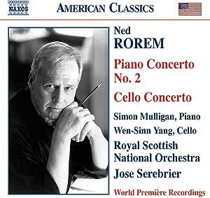 ローレム:ピアノ協奏曲第2番/チェロ協奏曲