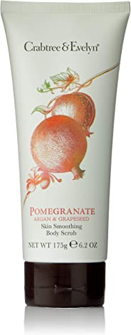 Crabtree & Evelyn Pomegranate Argan & Grapeseed Skin Smoothing Body Scrub, 175g