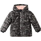 SNOW DREAMS Little Girls Winter Puffer Jacket Warm Fleece Lined Hood Coat