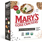 Mary's Gone Crackers Organic Black Pepper Crackers 184 g, 184 g