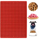 Palksky 468-Cavity Mini Round Silicone Mold/Chocolate Drops Mold/Dog Treats Pan/Semi Sphere Gummy Candy Molds for Ganache Jel