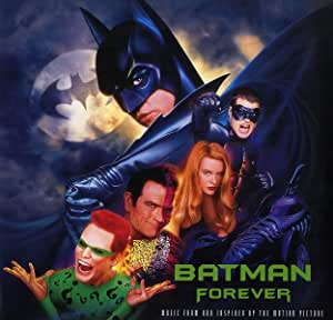 BATMAN FOREVER - MUSIC FROM THE MOTION PICTURE [2LP BLUE/SILVER VINYL] [Analog]