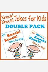 Knock Knock Jokes for Kids DOUBLE PACK incl. books '101 Knock Knock Jokes for kids' & '101 MORE Knock Knock Jokes for kids' (Joke Books for Kids Book 5) Kindle Edition