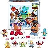 【Amazon.co.jp 限定】トイストーリー4 ミスターポテトヘッド アンディのおもちゃ部屋 ポテトパック E3066 正規品 ポテトL 2体 ポテトS7体 アクセサリー52個付属