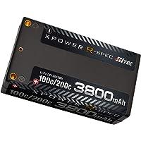 ハイテック XPOWER R-SPEC Li-Po 7.4V 3800mAh 100C/200C XPR3800S