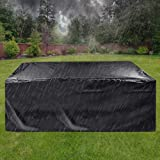 Outdoor Furniture Covers Waterproof,Cyanbamboo Patio Furniture Covers 420D Oxford Polyester Large Size 315X180X74cm for 12-14