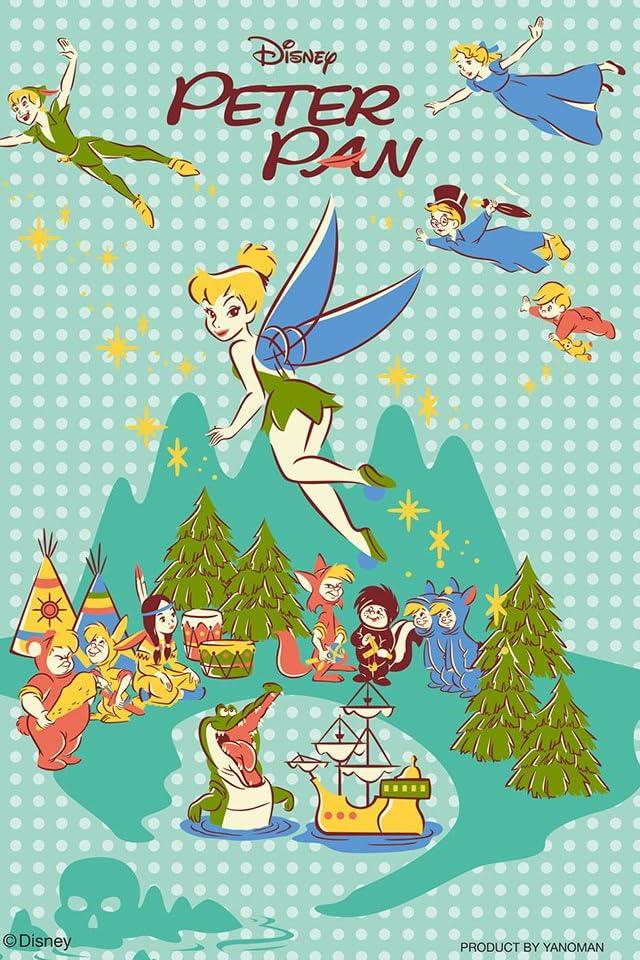 ディズニー ピーターパン iPhone(640×960)壁紙 画像44155 スマポ