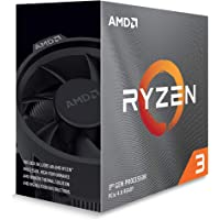 AMD Ryzen 3 3100, with Wraith Stealth cooler 3.6GHz 4コア / 8ス…