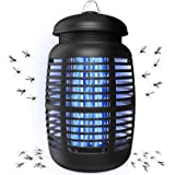 AVITONG Pro Bug Zapper for Outdoor & Attractant - Effective 4000V Electric Mosquito Zappers/Killer - Insect Fly Trap, Waterpr
