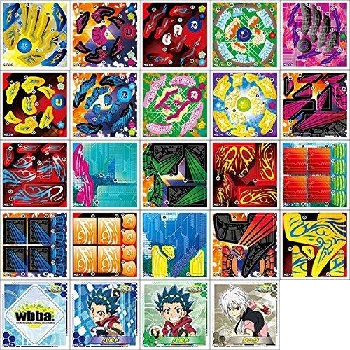 ベイブレードバースト カスタマイズシールコレクション BOX商品 1BOX = 20パック入り 1パック = 10枚入り、全60種類