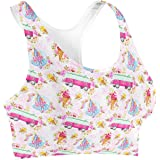 Rainbow Rules Beach Time Pink Campervan Sports Bra