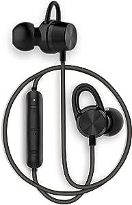 【 飾音(かざおと) AAC & apt-X 両対応 Bluetoothイヤホン 】 超軽量11.5g 日本人のためのイヤホン エルゴノミクスデザイン AAC & apt-X 双方に対応 和の硝子ブランドより 漆黒のミニマルデザイン 高音質 iPhone対応 IPX4 防水 フル・ブルーム ブルートゥース 両耳 ワイヤレスイヤホン 技適取得済み (飾音 漆黒)