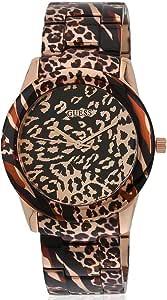 [ゲス] GUESS 腕時計 Women's Analog Display Quartz Rose Gold Watch クォーツ U0425L3 レディース [バンド調節工具&高級セーム革セット]【並行輸入品】