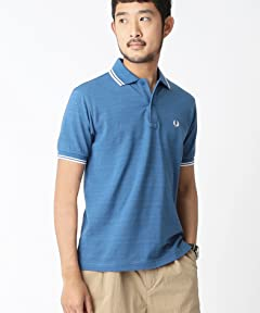 Fred Perry Pale Tone Polo Shirt 11-02-0170-060: Saxe