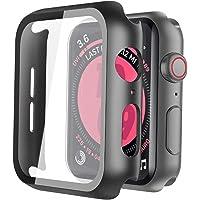 ULOE Apple Watch Series 5 / Series 4 44mm PC ブラック ケース