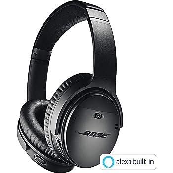 Bose QuietComfort 35 wireless headphones II ワイヤレスノイズキャンセリングヘッドホン Amazon Alexa搭載 快適な装着感 20時間連続再生 通話マイク搭載 ブラック