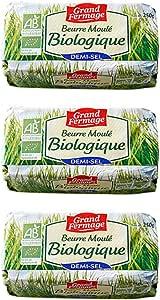 フランスグランフェルマージュグラスフェッド有塩バター【250gx3個セット】 Grand Fermage DEMI-SEL